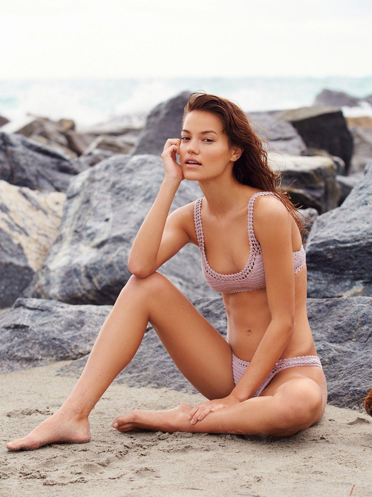 Crop Bralette Bikini Top