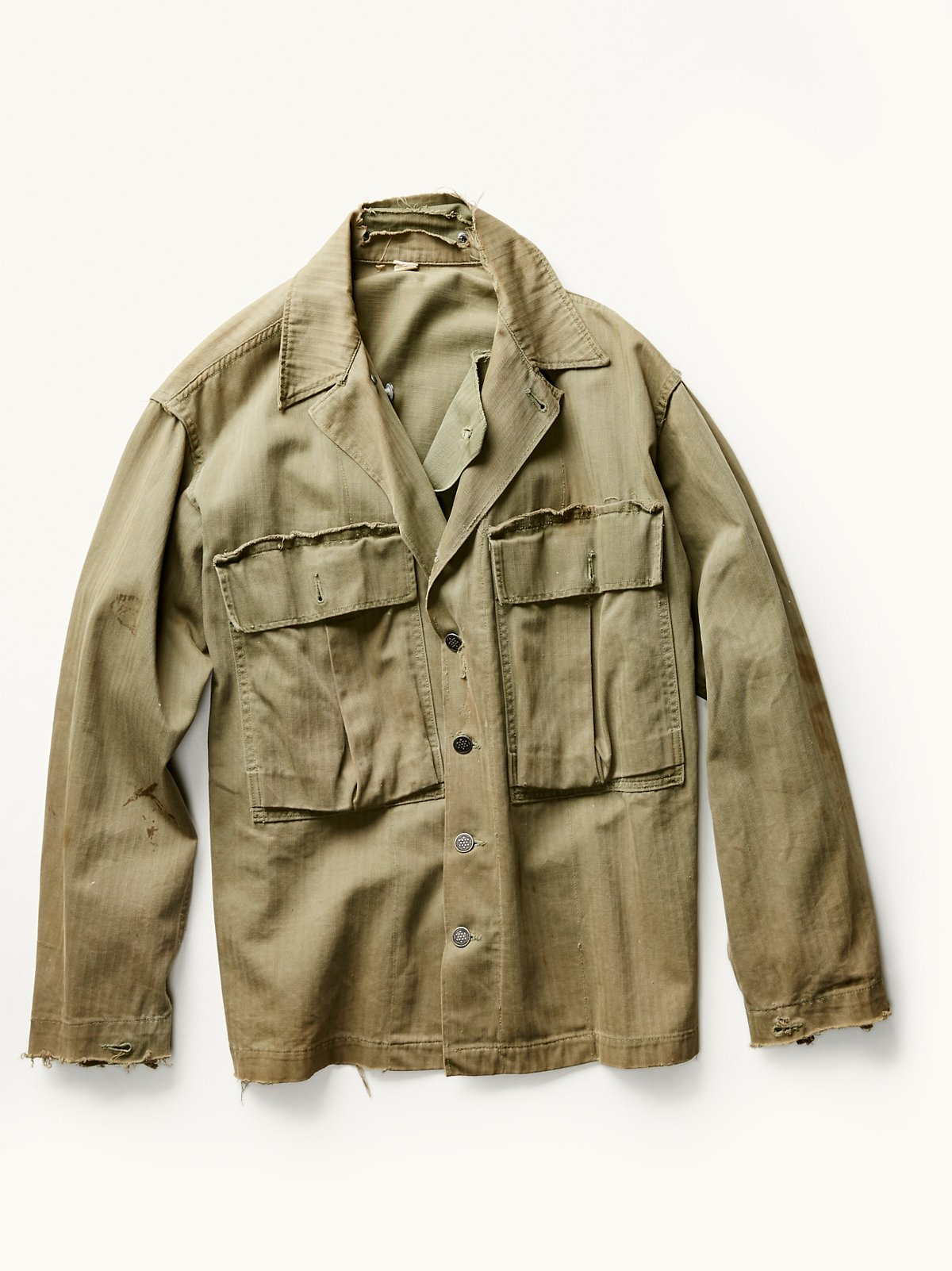 Vintage 1940s Military Shirt
