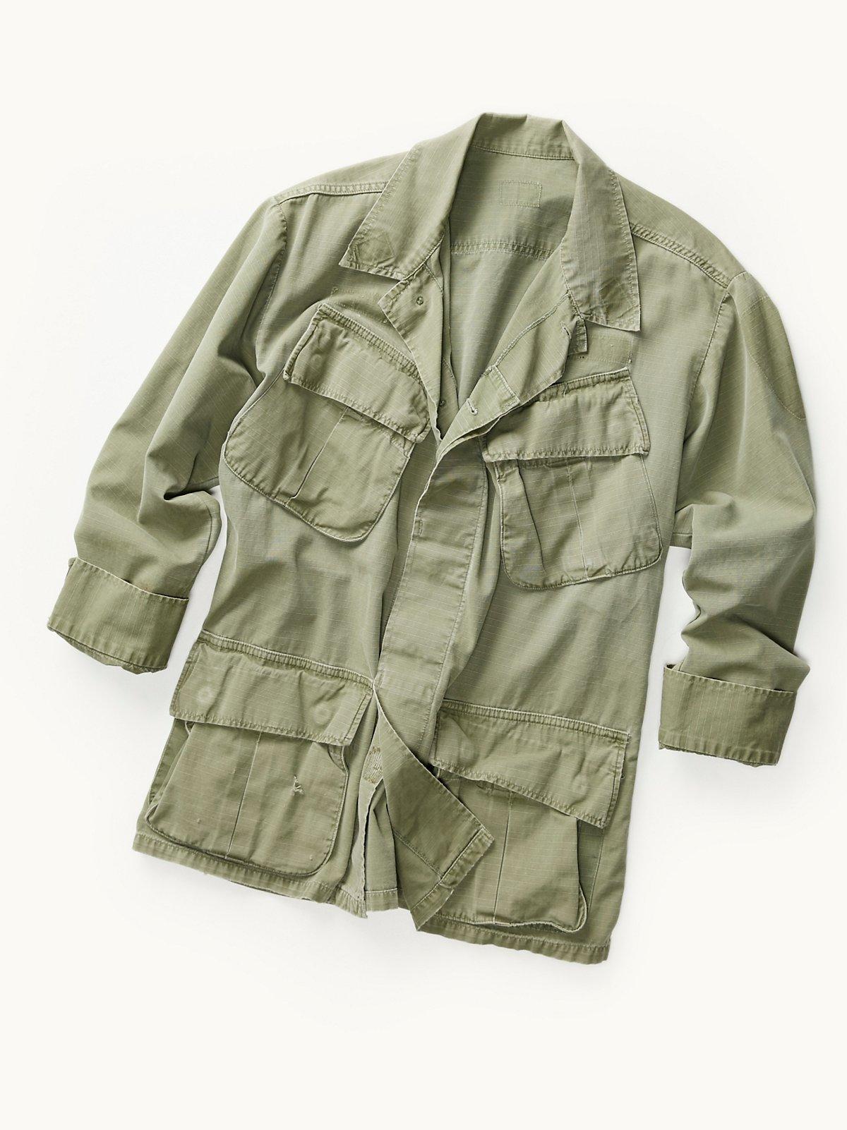Vintage 1960s Jungle Jacket