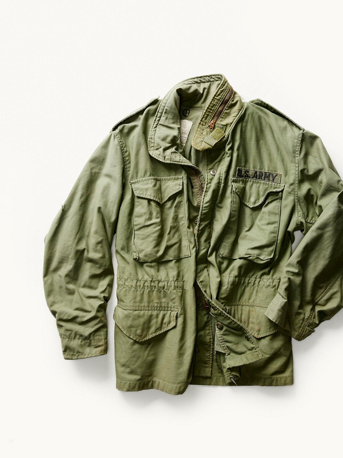 Vintage 1960s Military Jacket