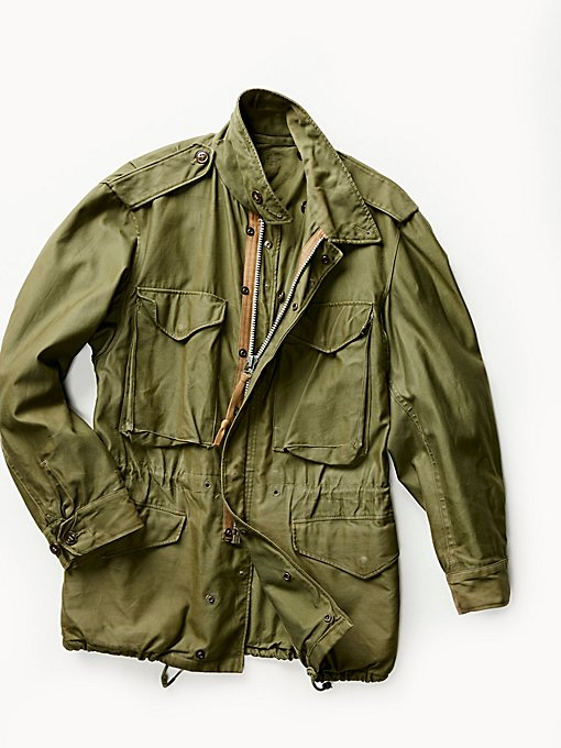 Product Image: Vintage 1950s Military Jacket
