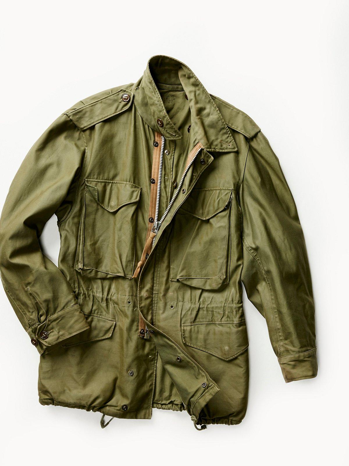 Vintage 1950s Military Jacket