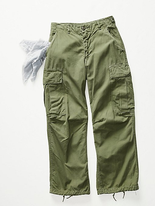 Product Image: Vintage 1970s Military Pants