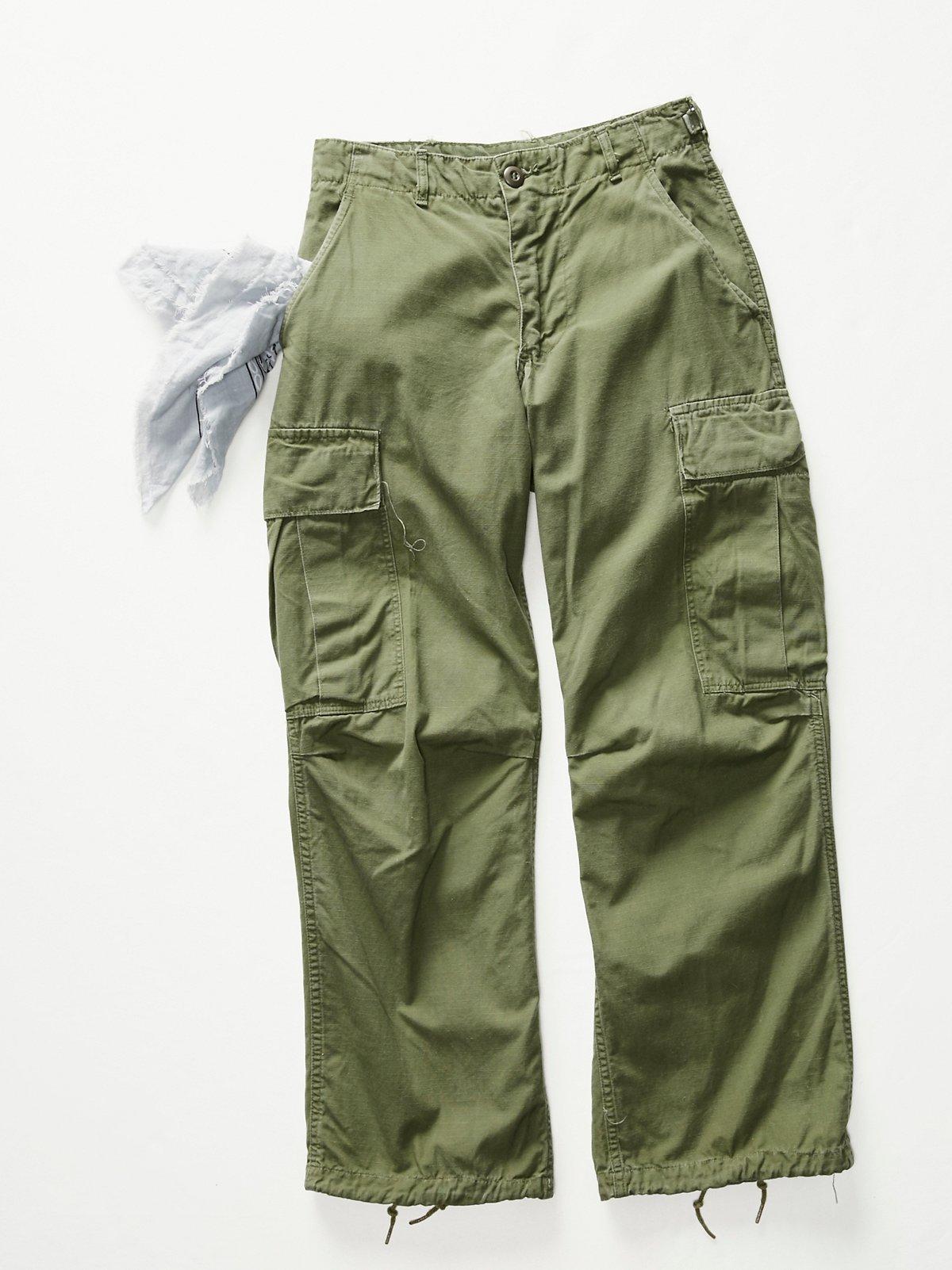 Vintage 1970s Military Pants