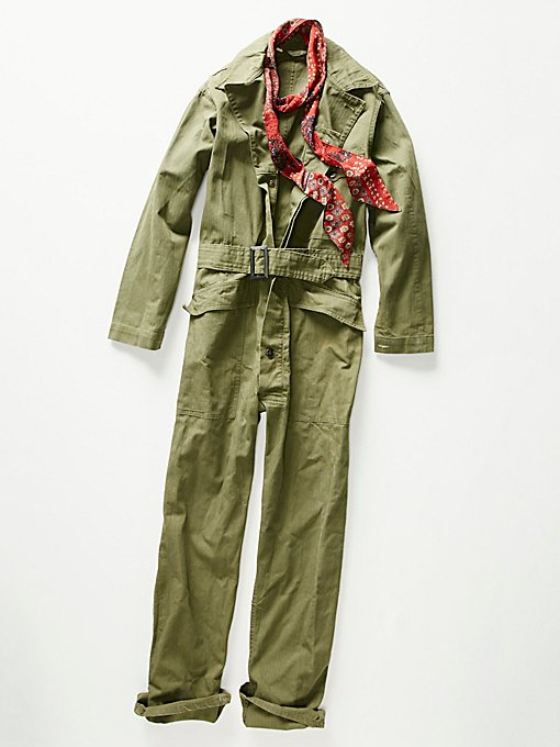 Product Image: Vintage 1940s Military Coveralls