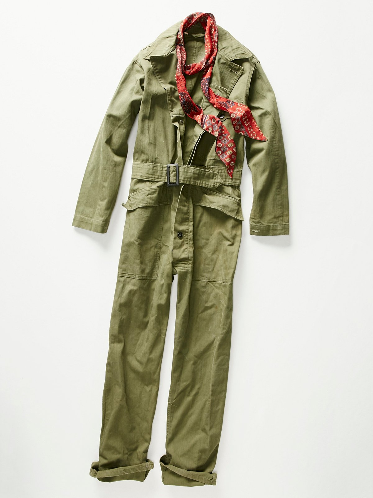 Vintage 1940s Military Coveralls