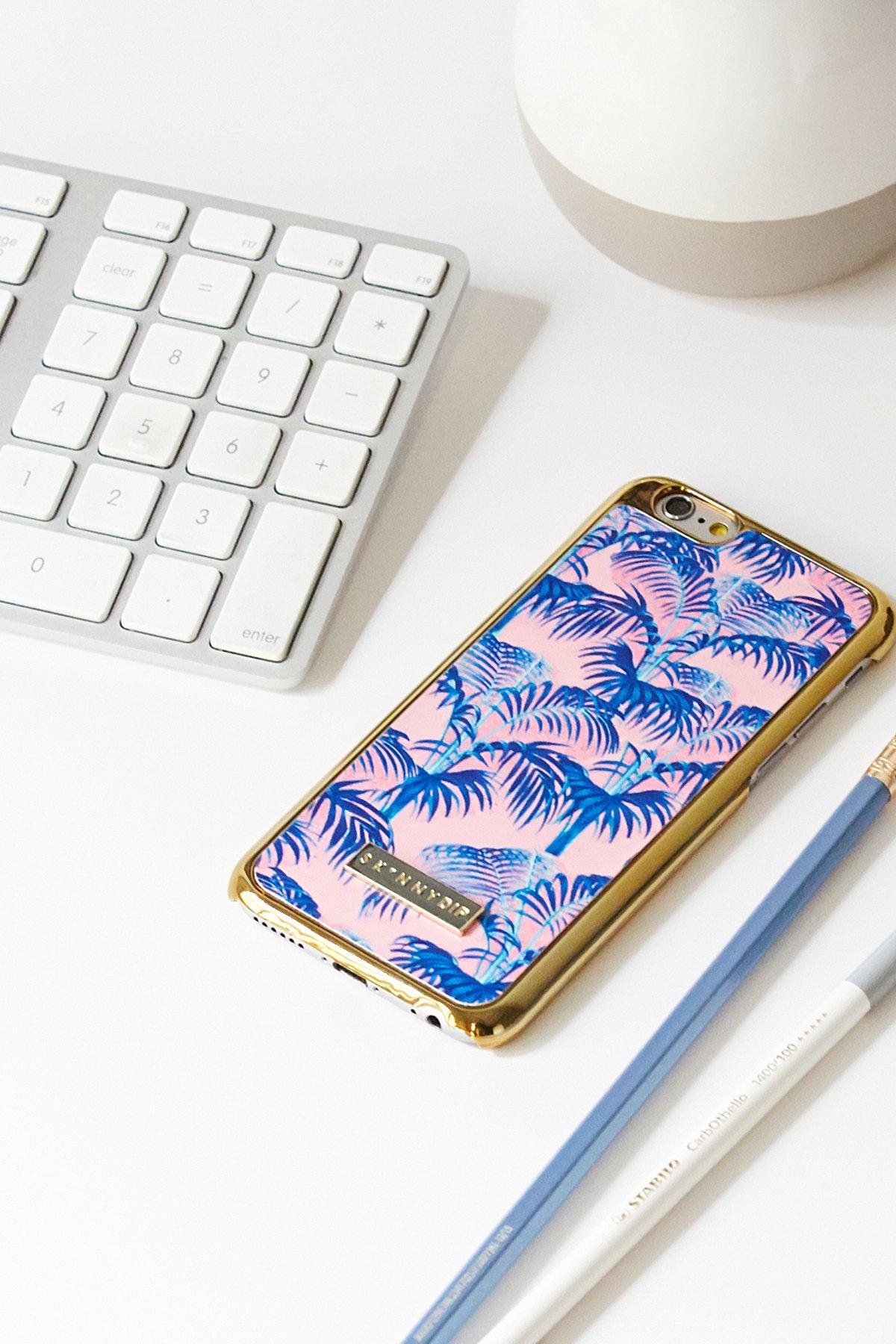 棕榈树图案iPhone手机壳