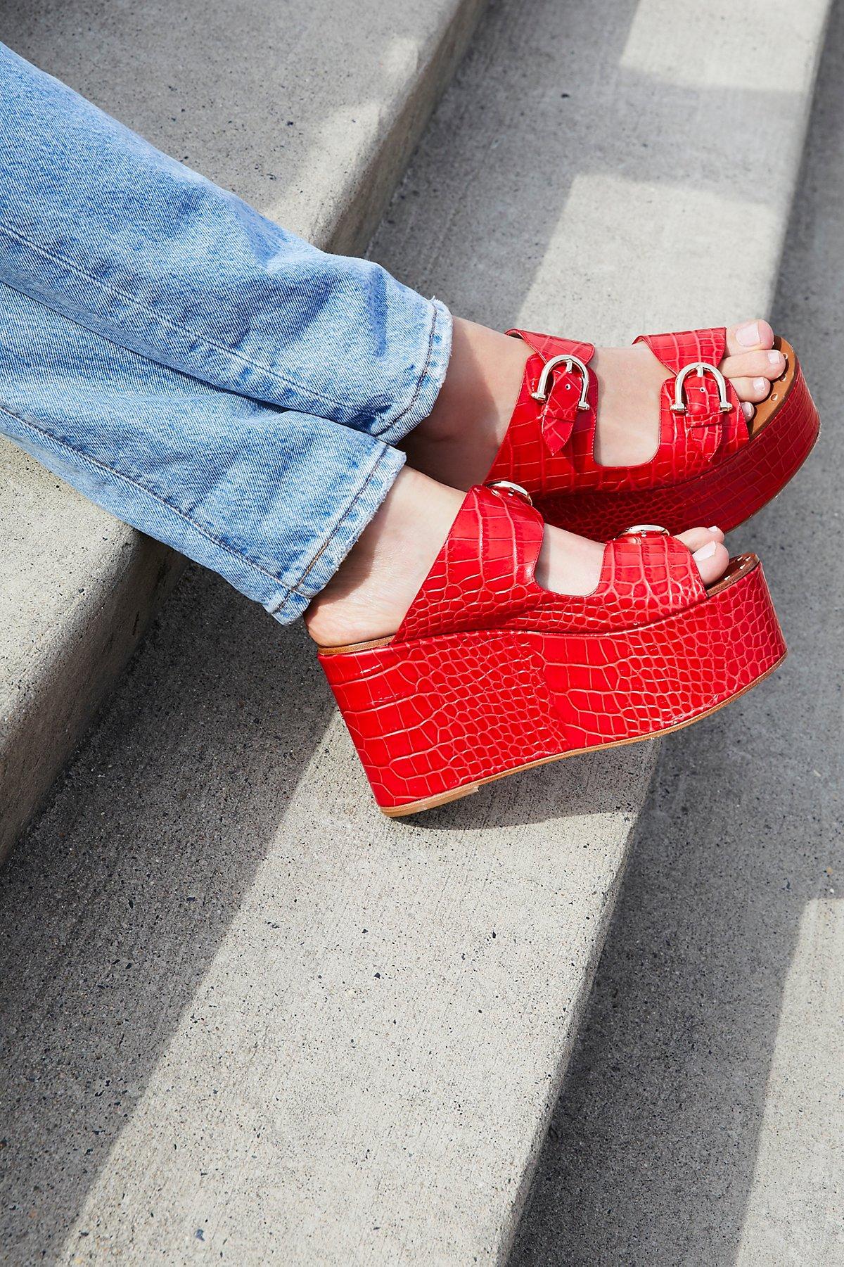 Sibyl厚底穆勒鞋