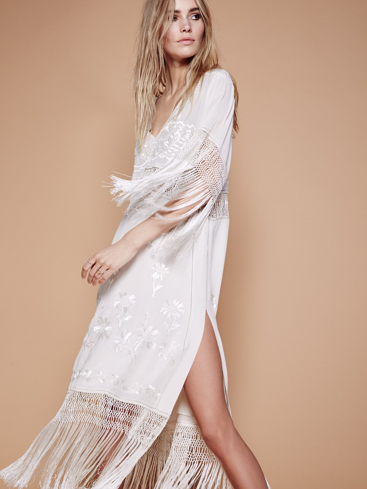 Ella Fringe Midi Dress