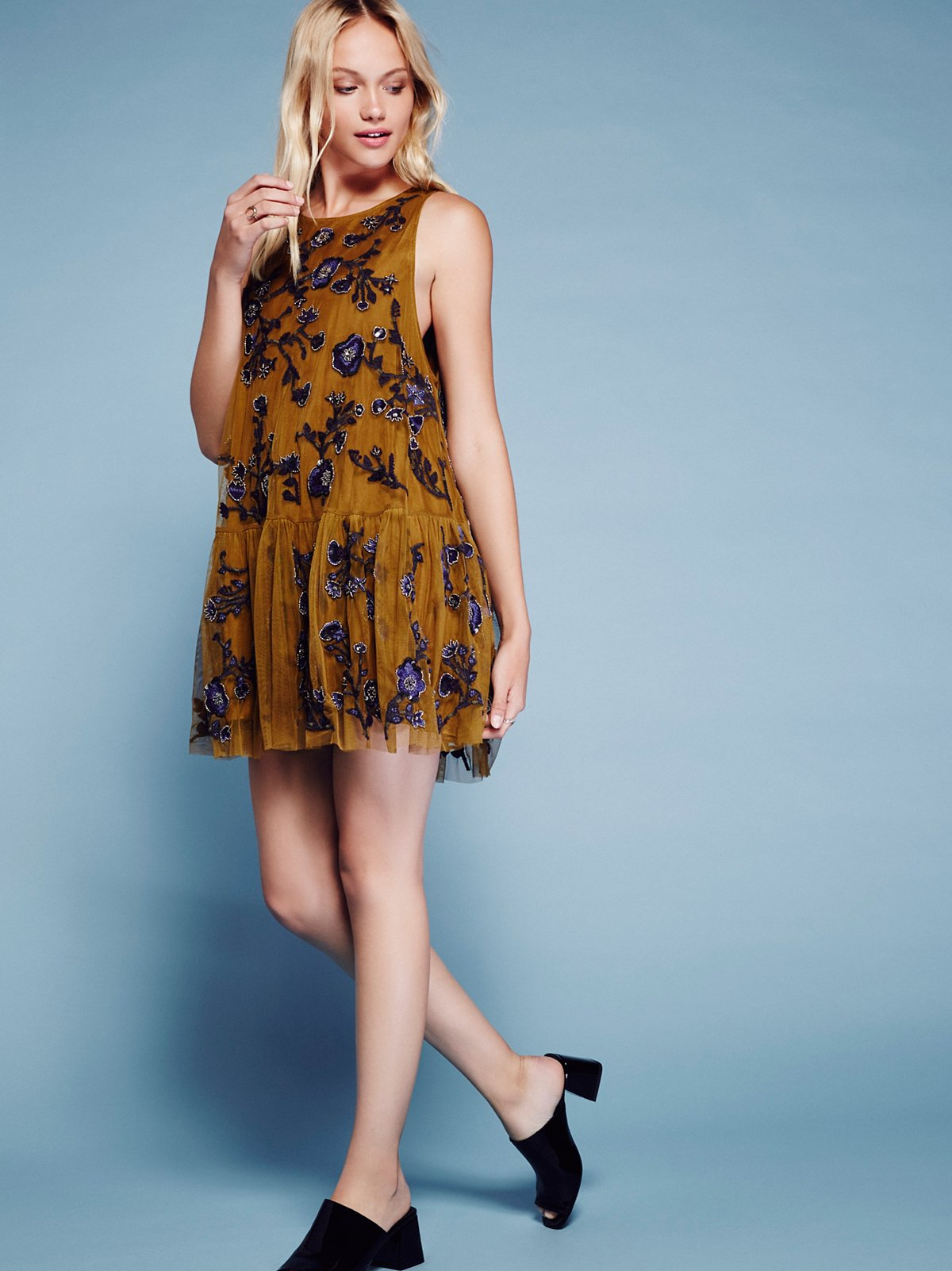 Annabelle Trapeze Dress