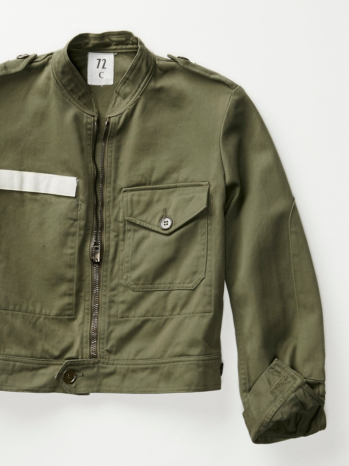 Vintage 1970s Foreign Military Jacket