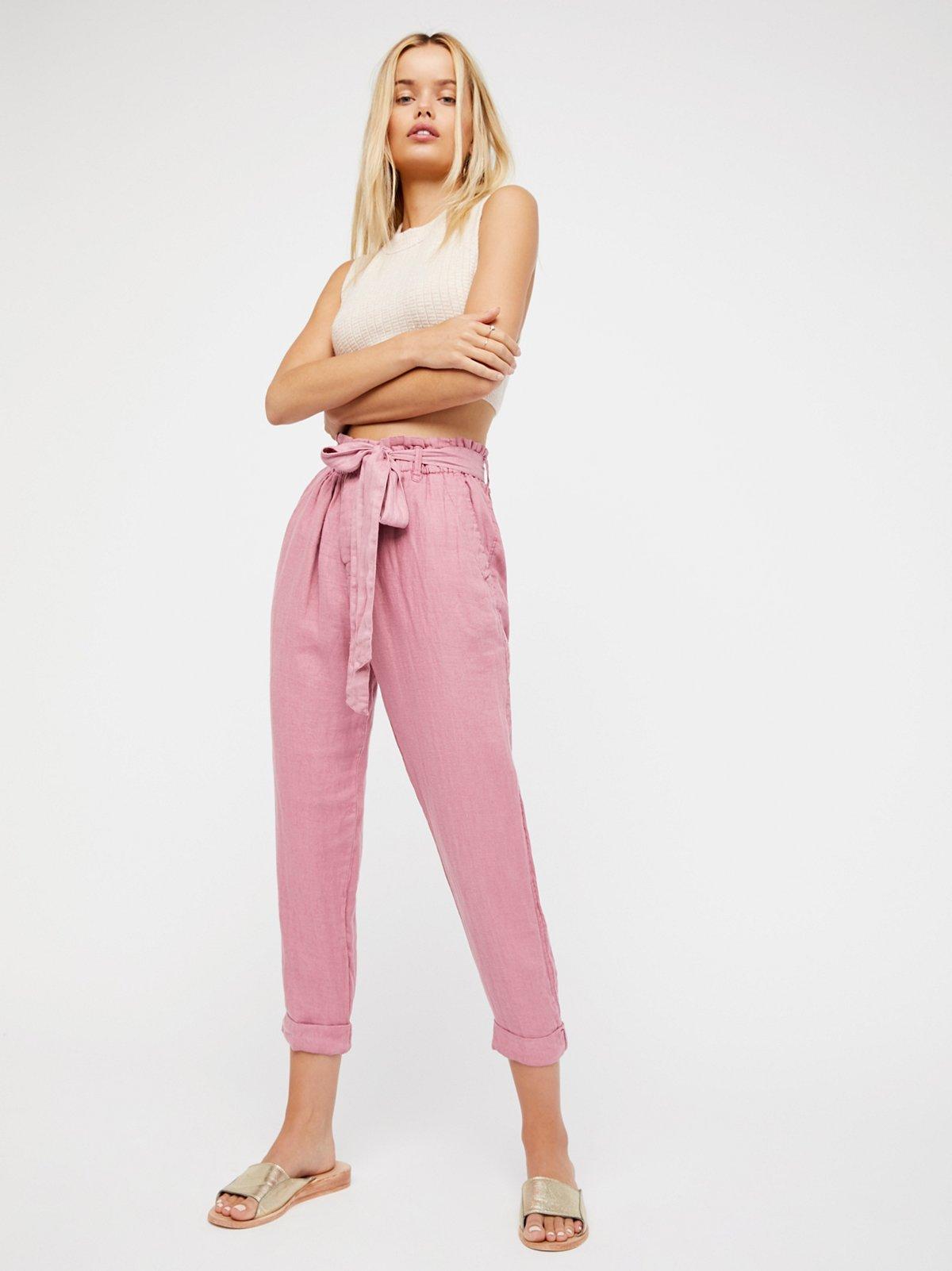 Like This纸袋裤