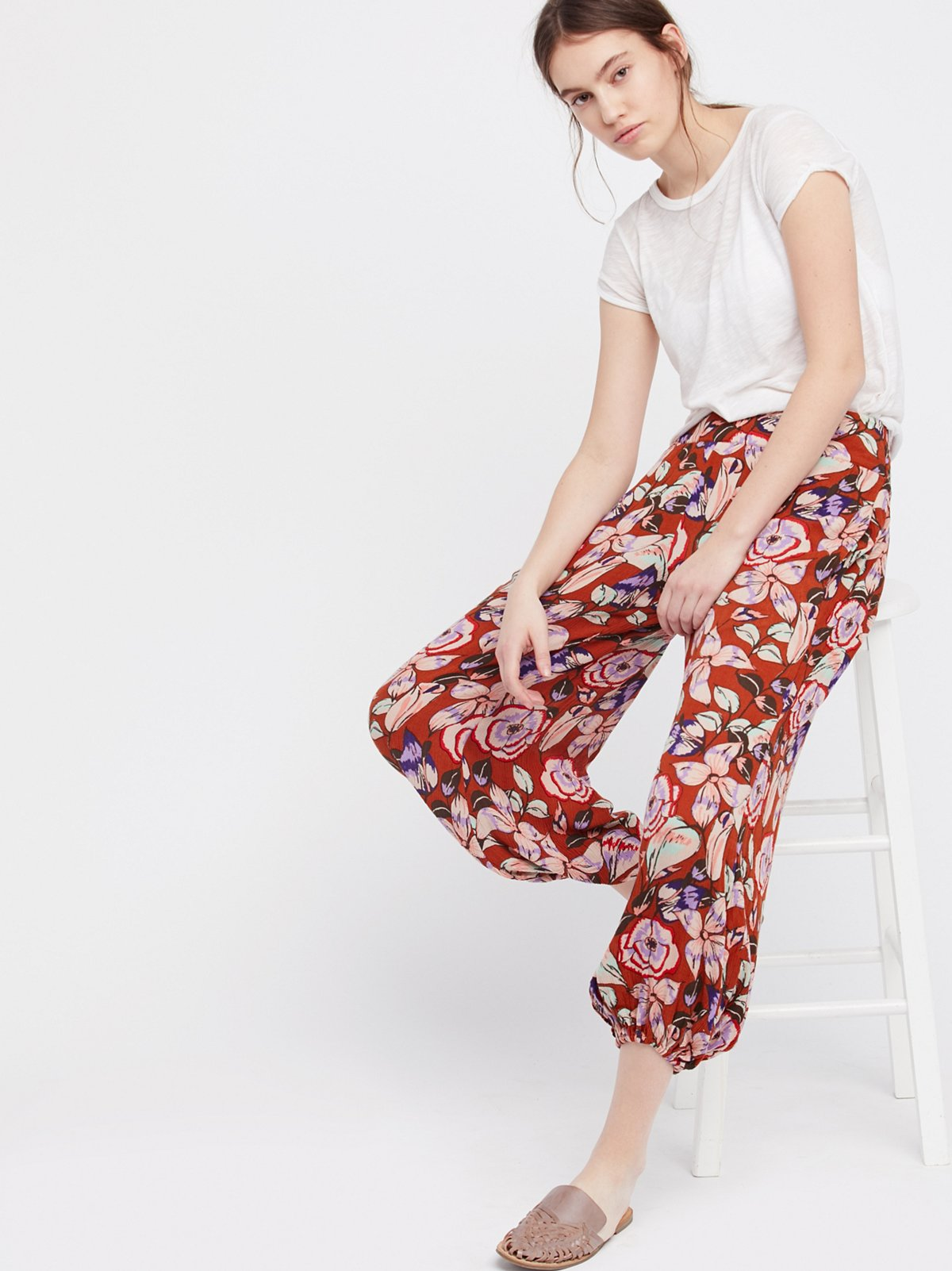 Easy Balloon Printed Trouser
