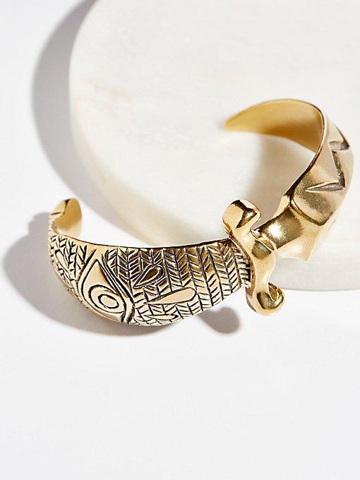Product Image: Brass Dagger Cuff