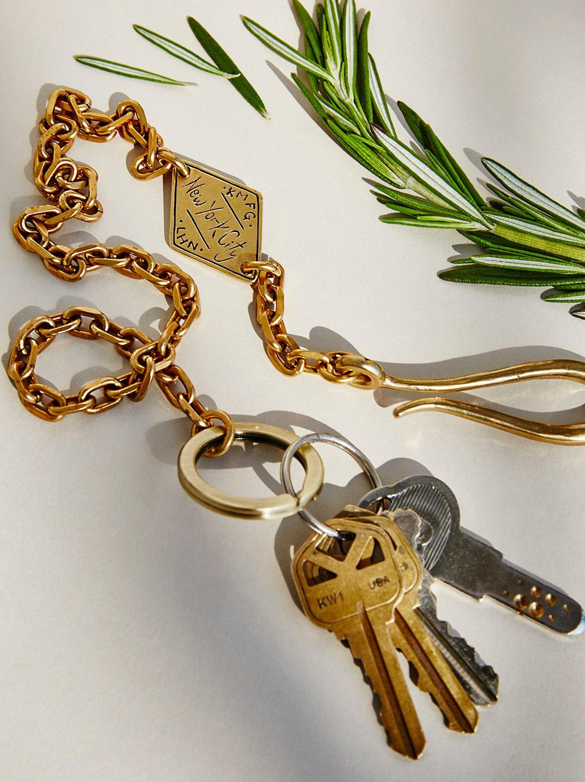 钥匙圈口袋链