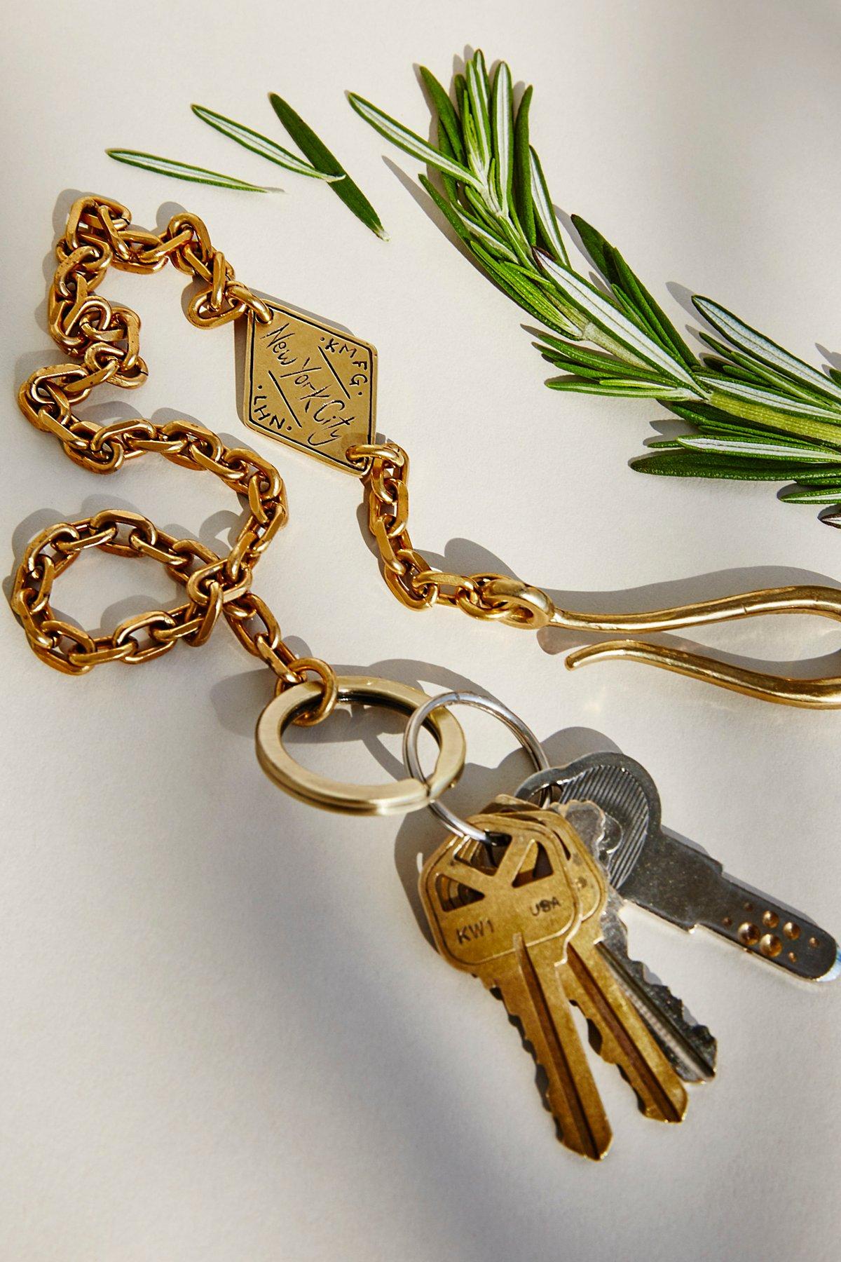 Key Ring Pocket Chain