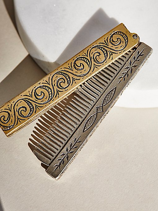Product Image: Hand Engraved Comb