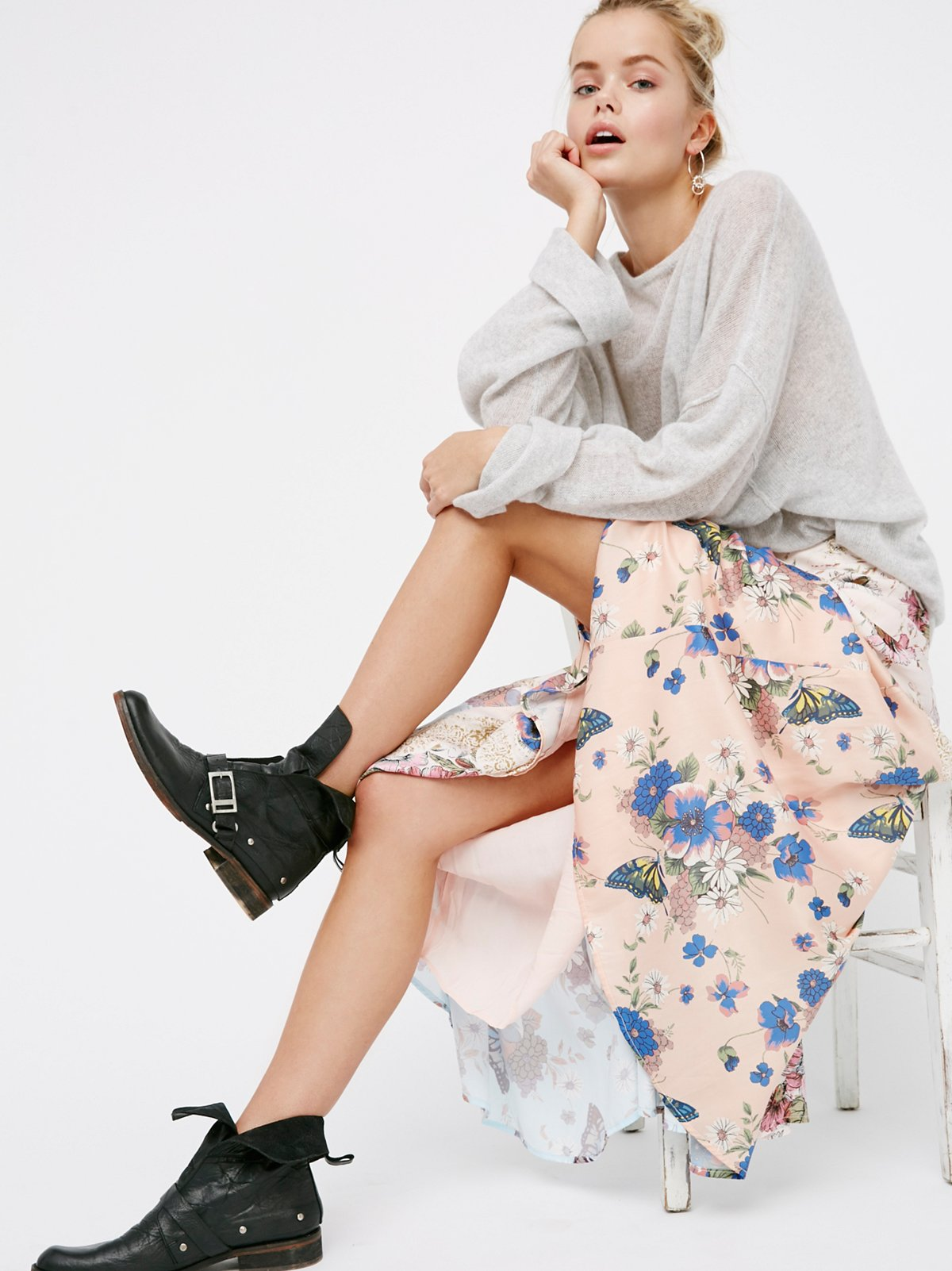 Shakedown Town Maxi Skirt
