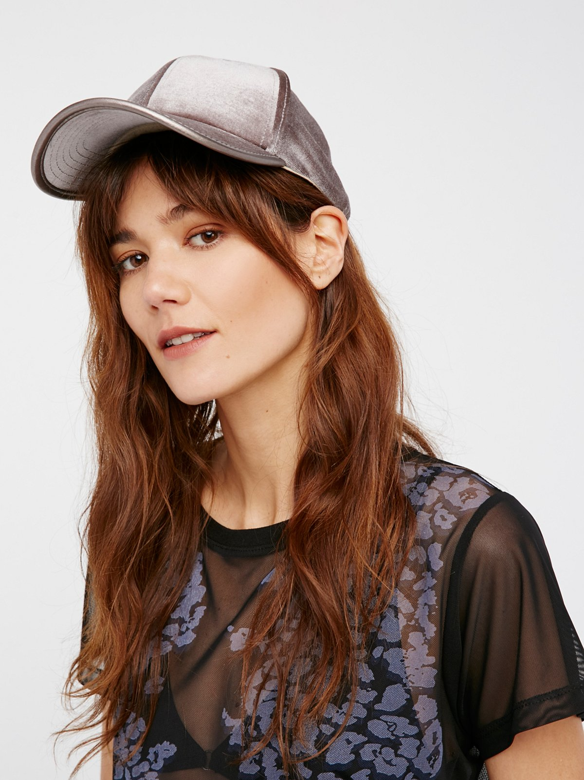 Lady Luck Velvet Baseball Hat