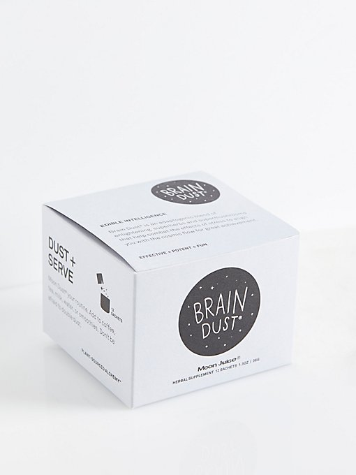 Product Image: Moon Juice出品的Brain Dust营养粉袋装盒
