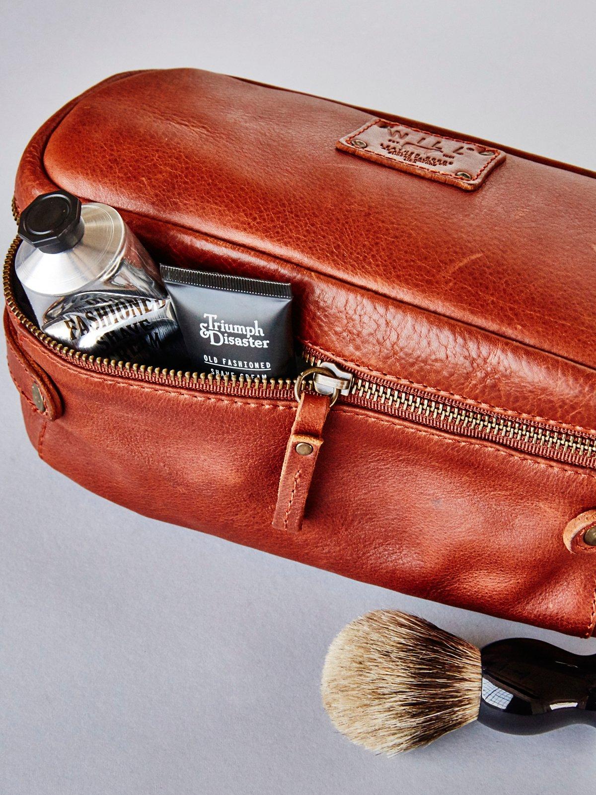 皮革旅行袋