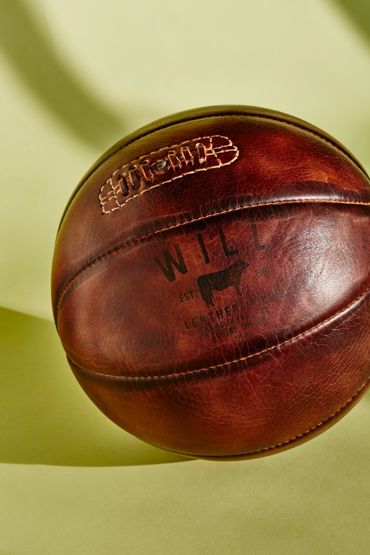 Golden Age Leather Basketball