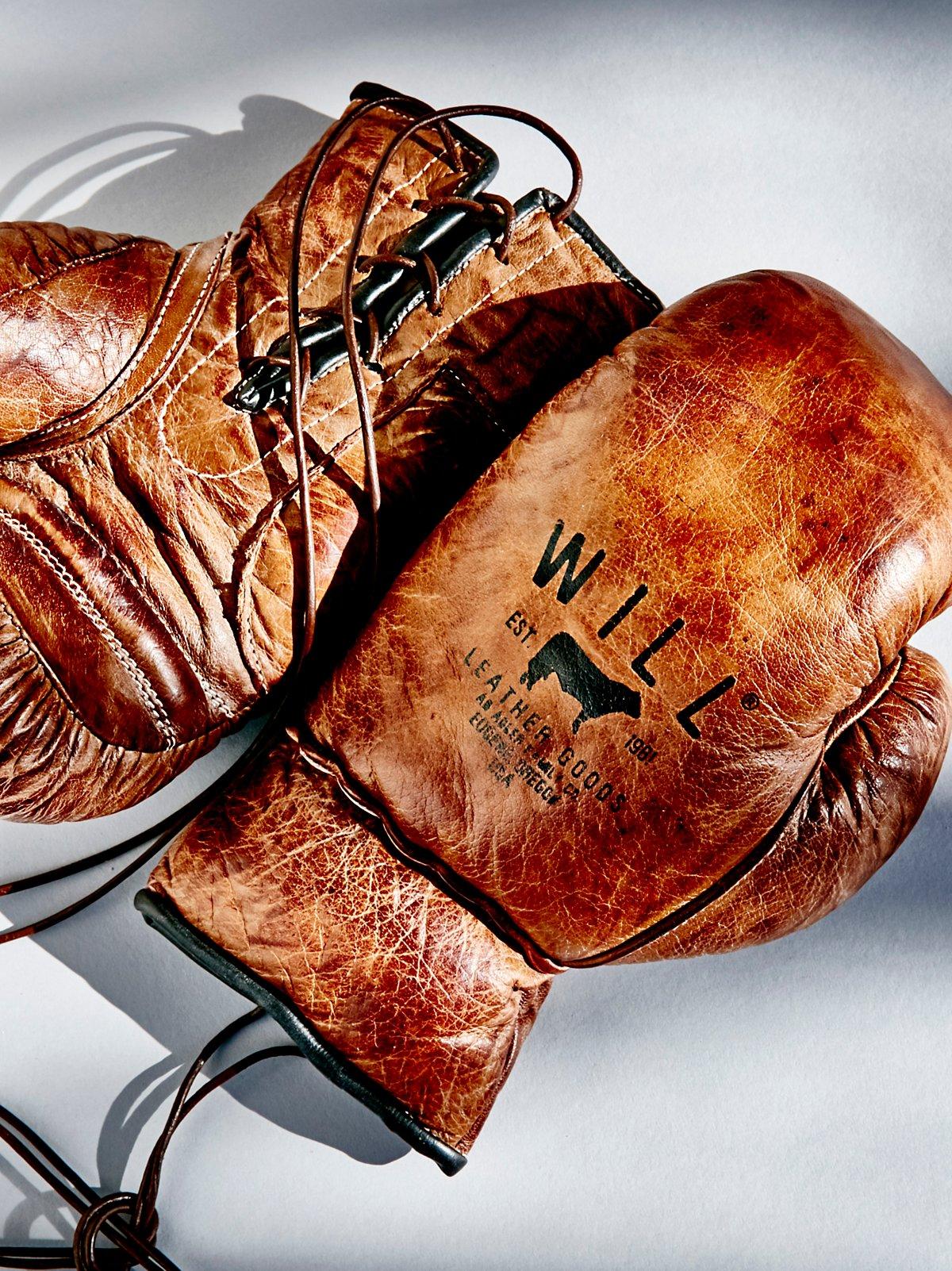Golden Age皮革拳击手套