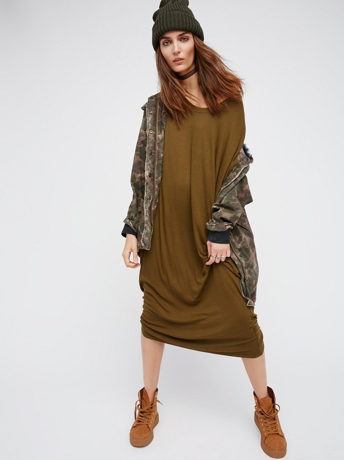 Flip Flop及踝长裙
