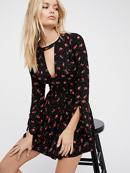 Product Image: Teagan Printed Mini Dress