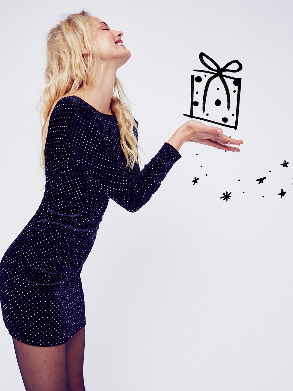 Gabby Velvet Mini Dress