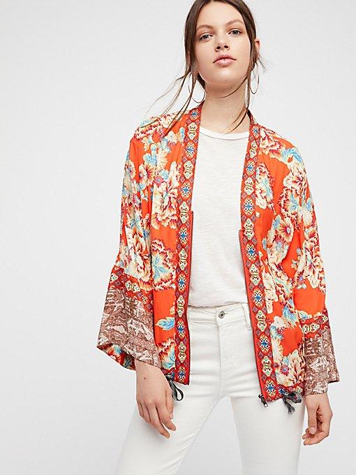 Product Image: Wildflower Printed Kimono