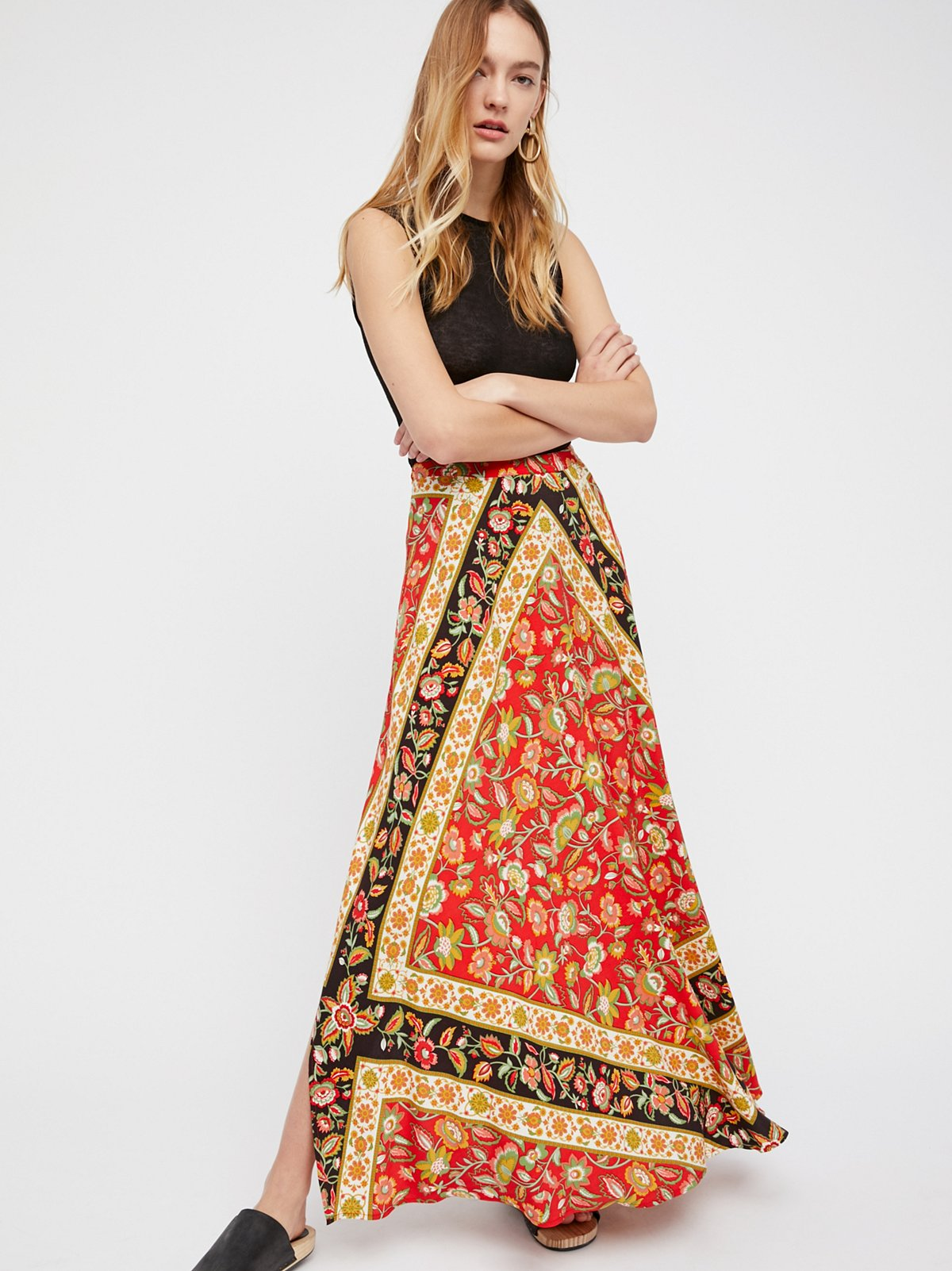 Lolita Split Maxi Skirt