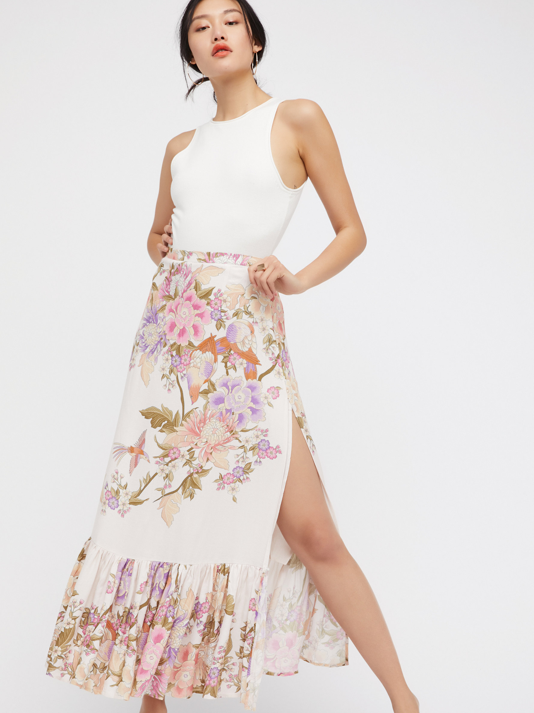 Maxi Skirts: White, Black, Floral & More | Free People
