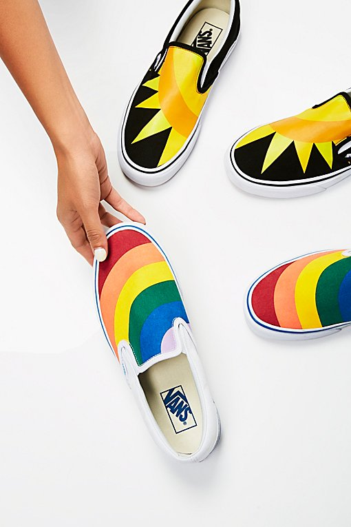 Product Image: Rainbow Classic Slip On Sneaker