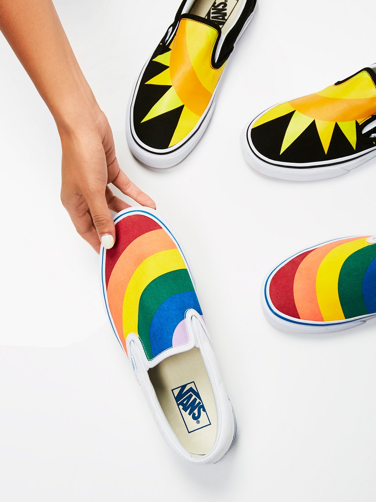 Rainbow Classic Slip On Sneaker