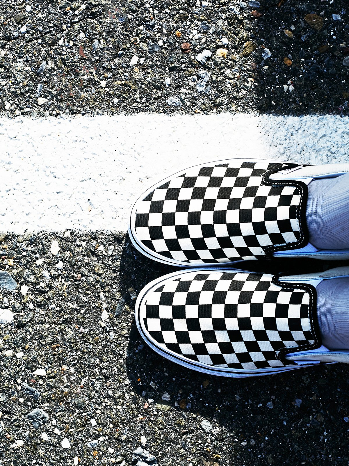 Classic Checkered Slip On