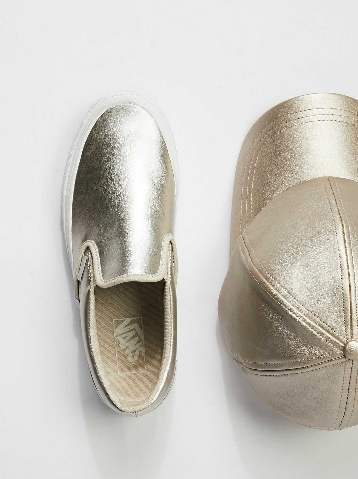 Metallic Classic Slip-On