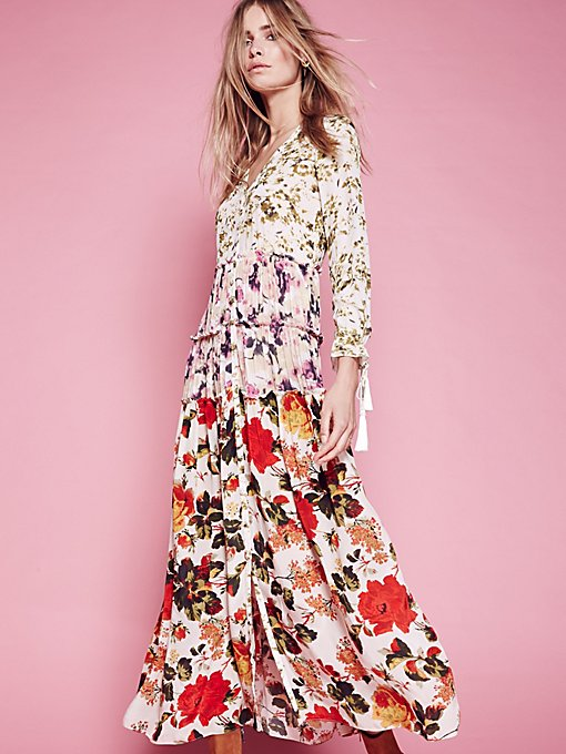 Product Image: Mixed Floral Maxi Dress