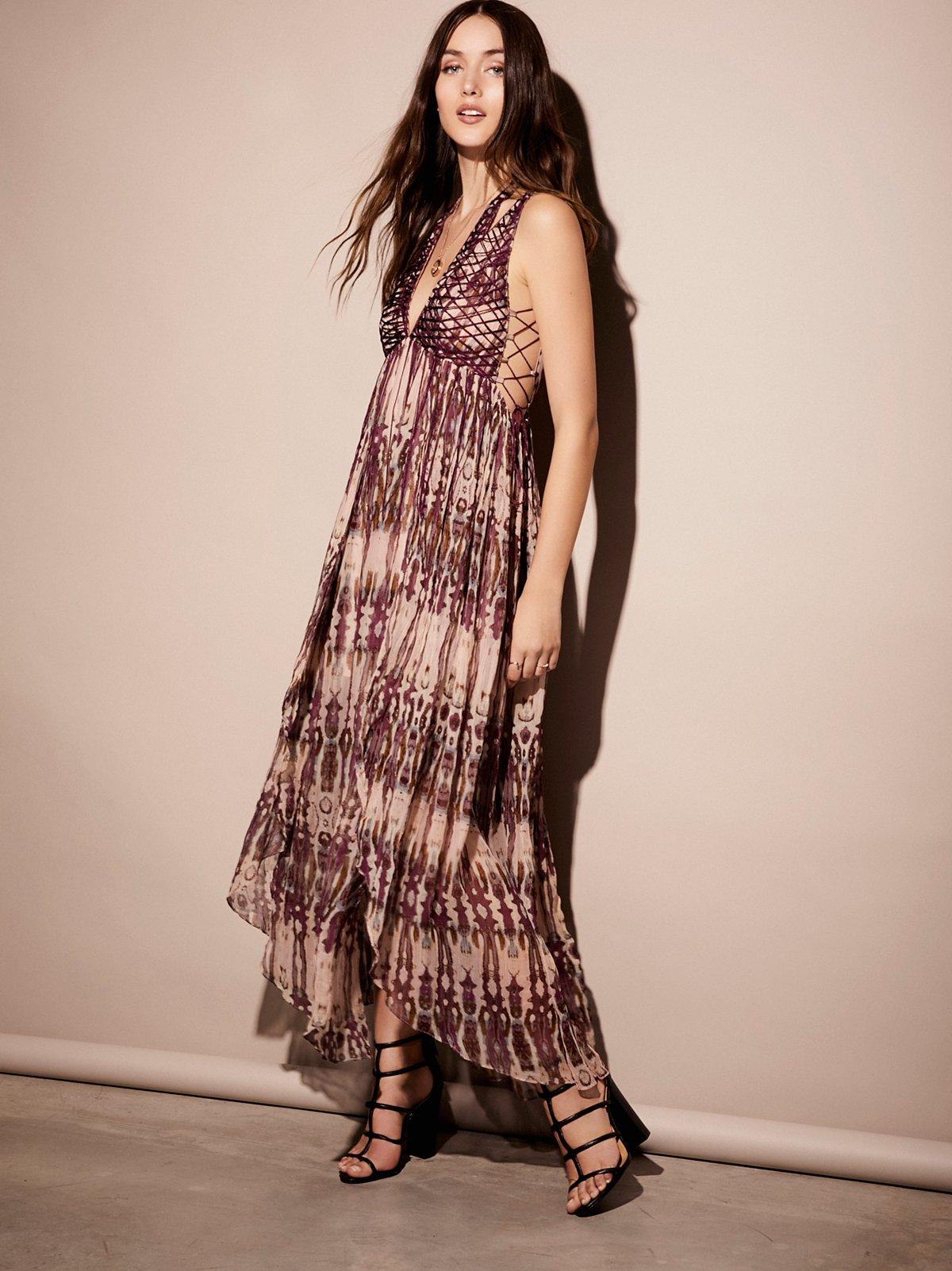 Freyja及踝连衣裙