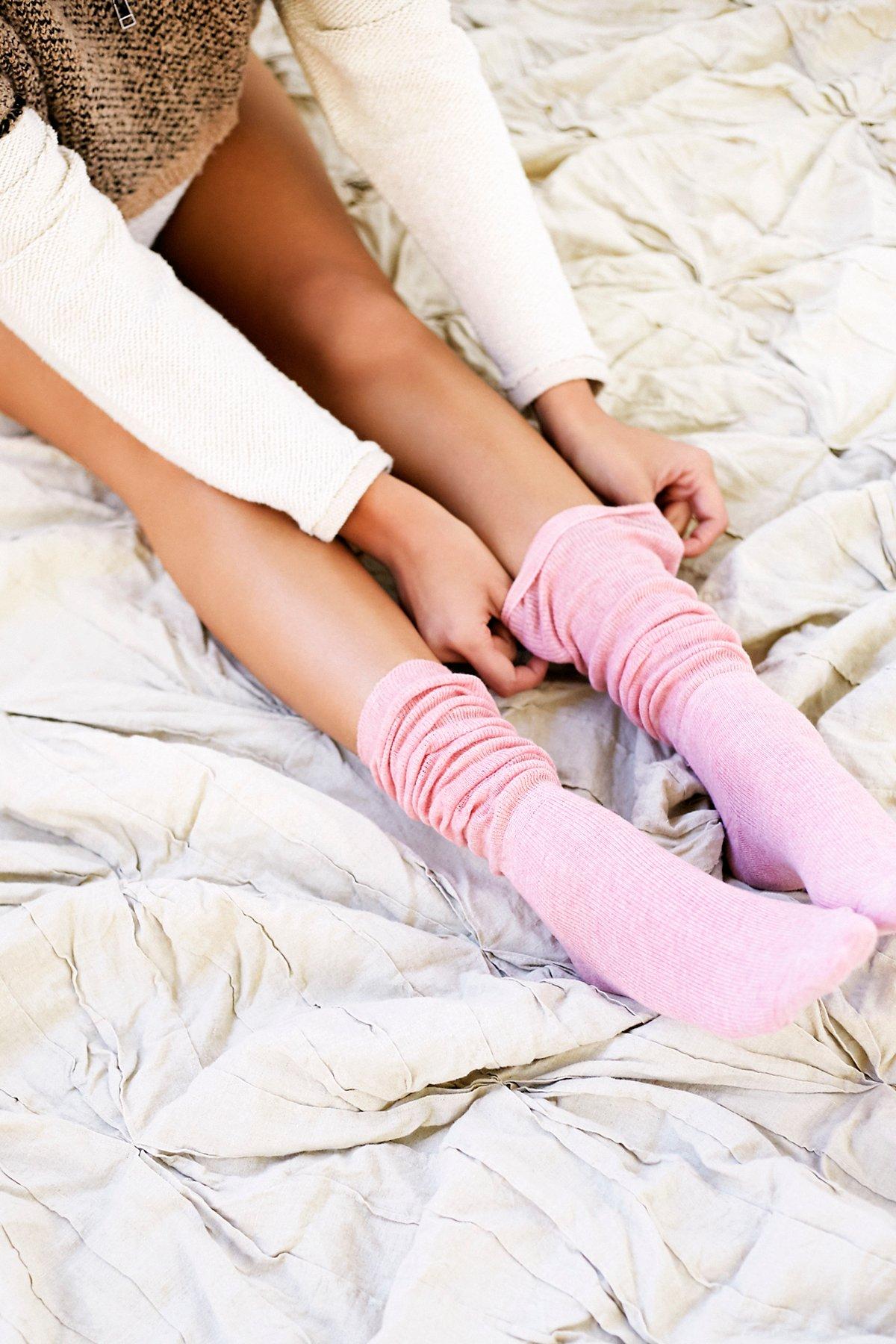 Amber Scrunchy Sock