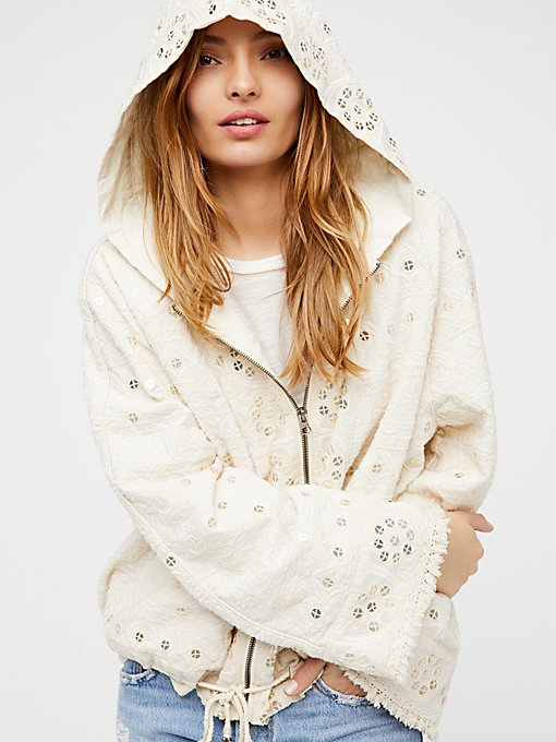 Product Image: Embellished Cotton Hoodie