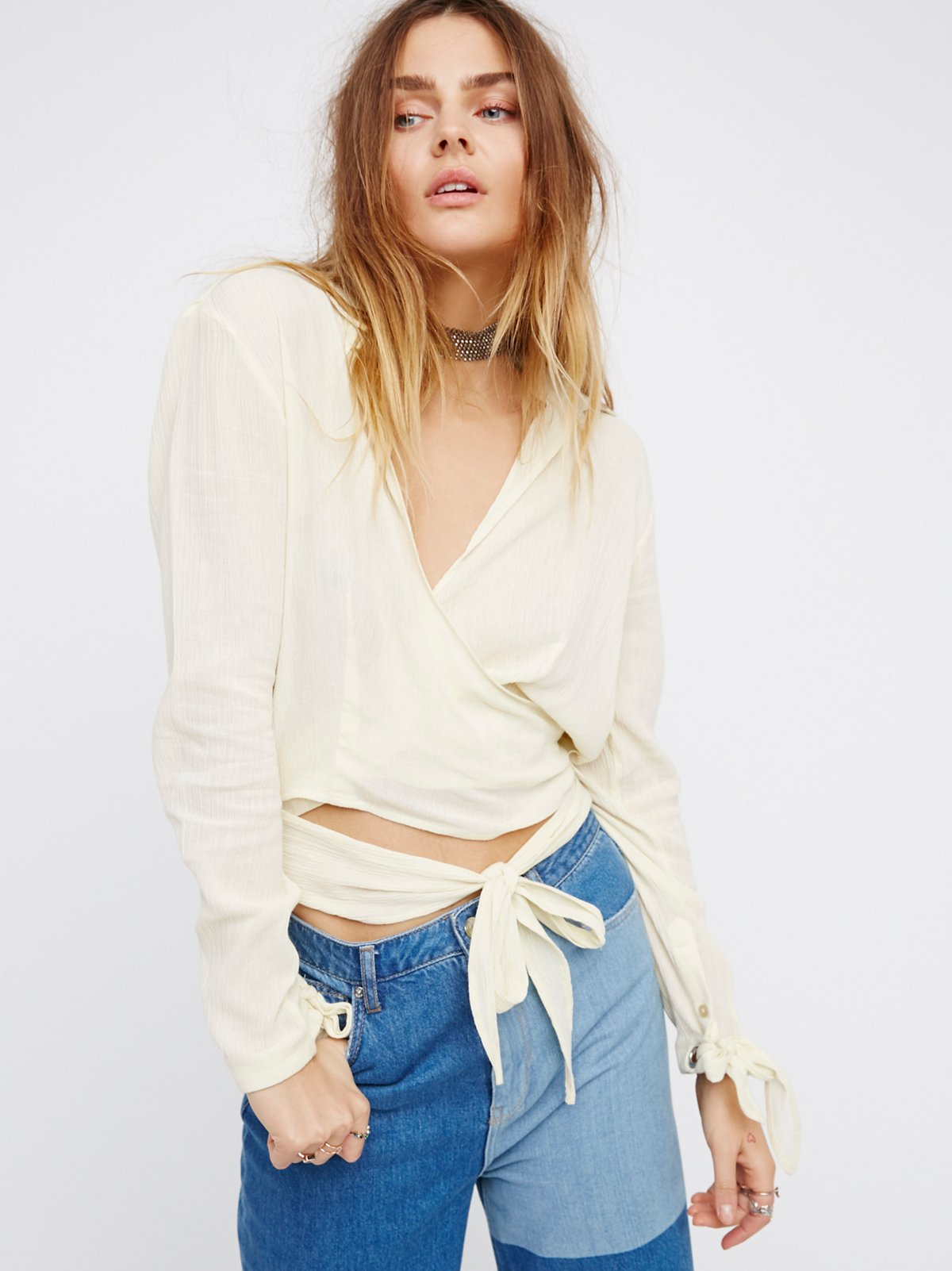 Sparrow Song Wrap Top