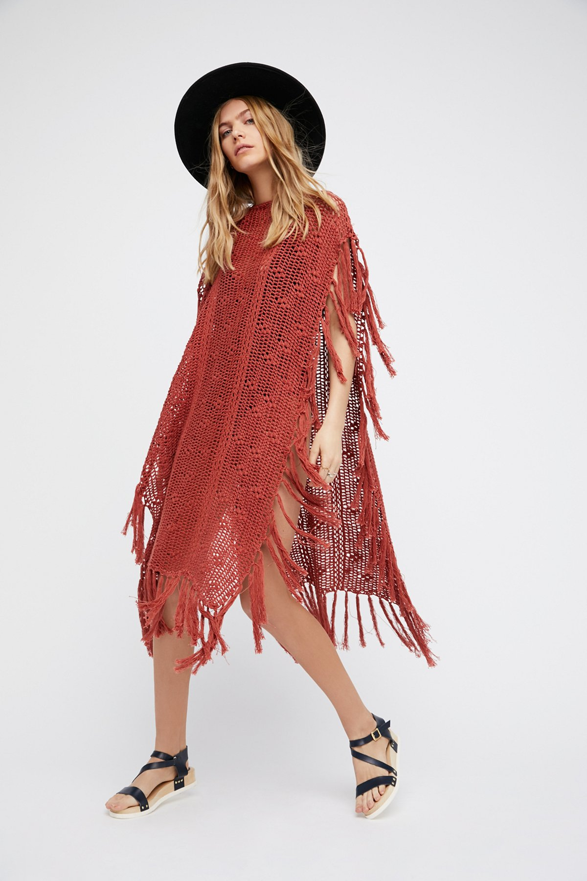 Without Borders Crochet Kaftan