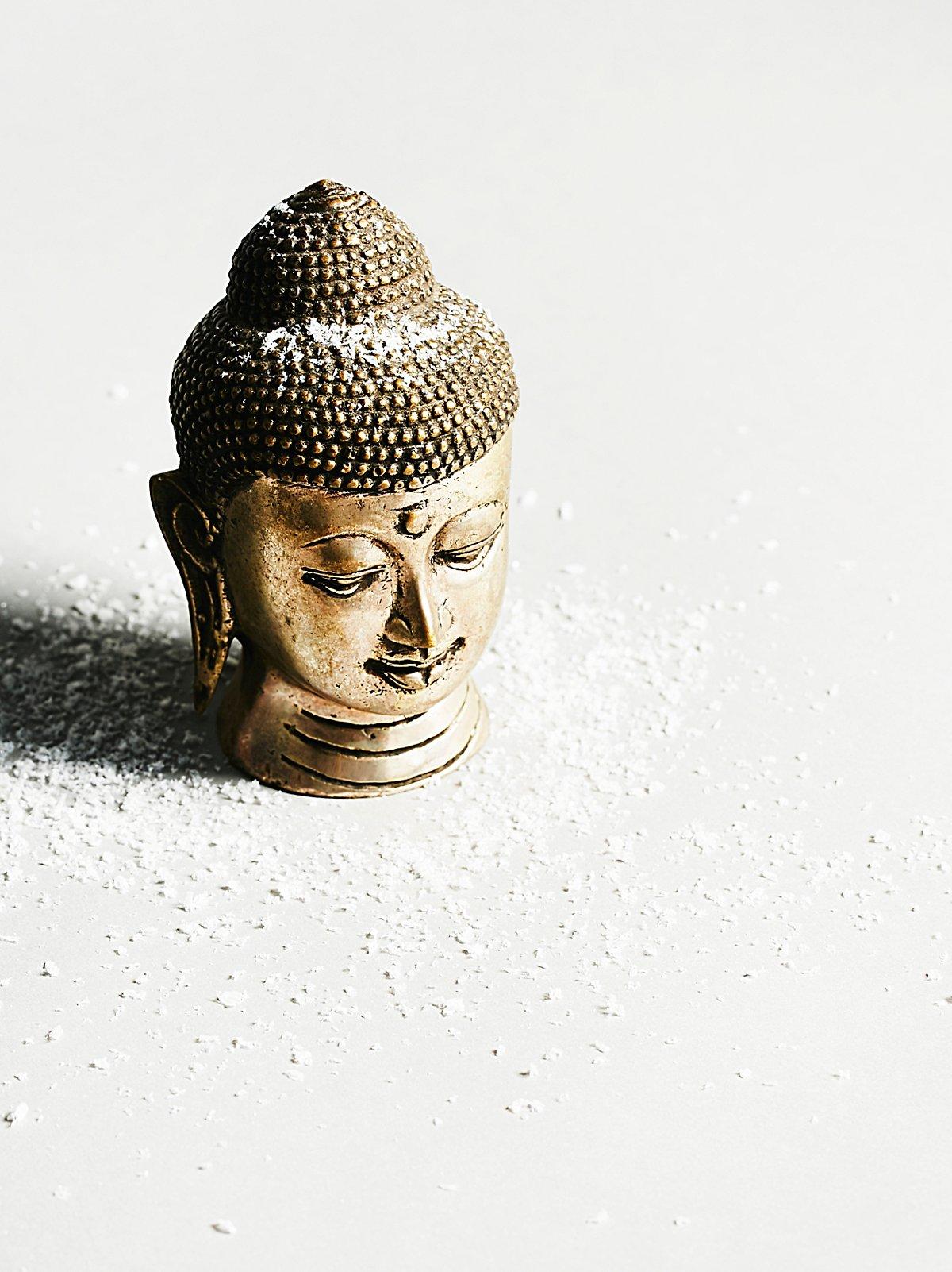 Vintage 1960s Buddha Head