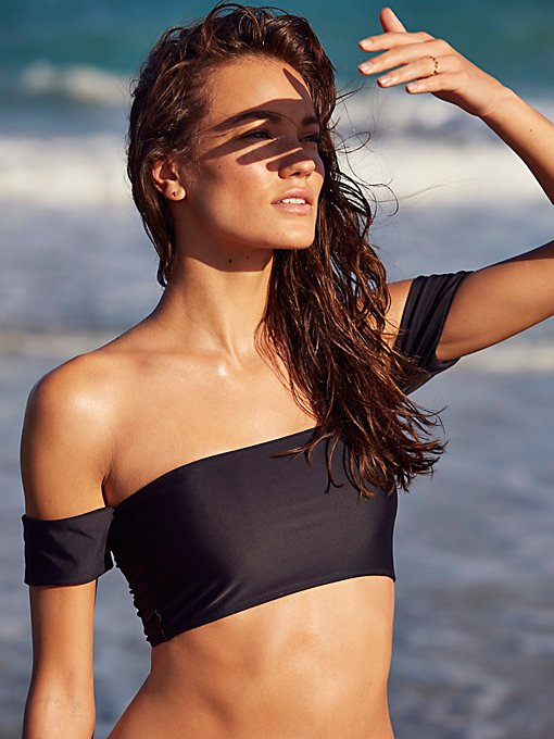 Product Image: Rose Solid Bikini Top