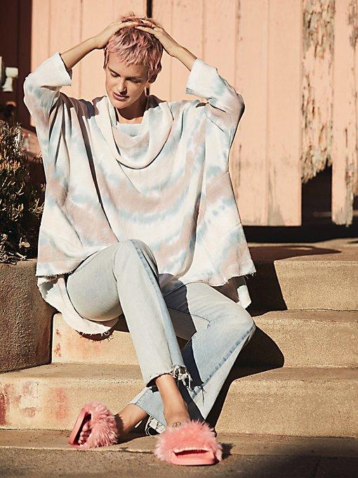 Product Image: Aero斜侧缝设计牛仔裤