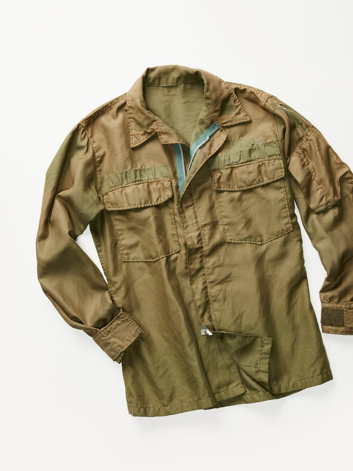 Vintage 1970s Military Shirt