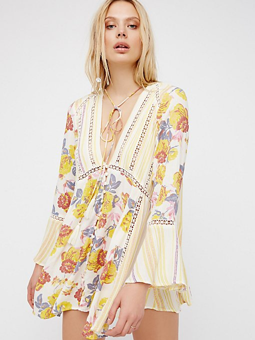 Product Image: Lovestoned Buttondown Printed Tunic