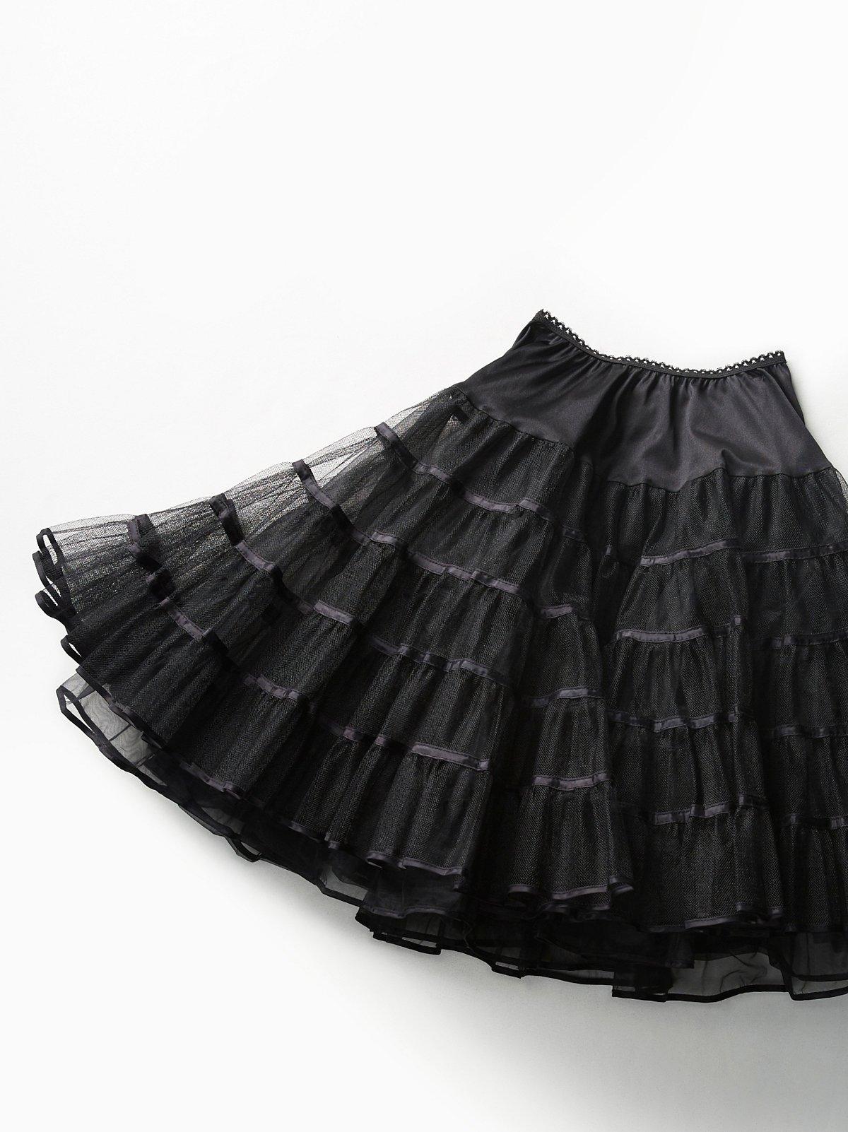 Vintage 1980s Tulle Skirt