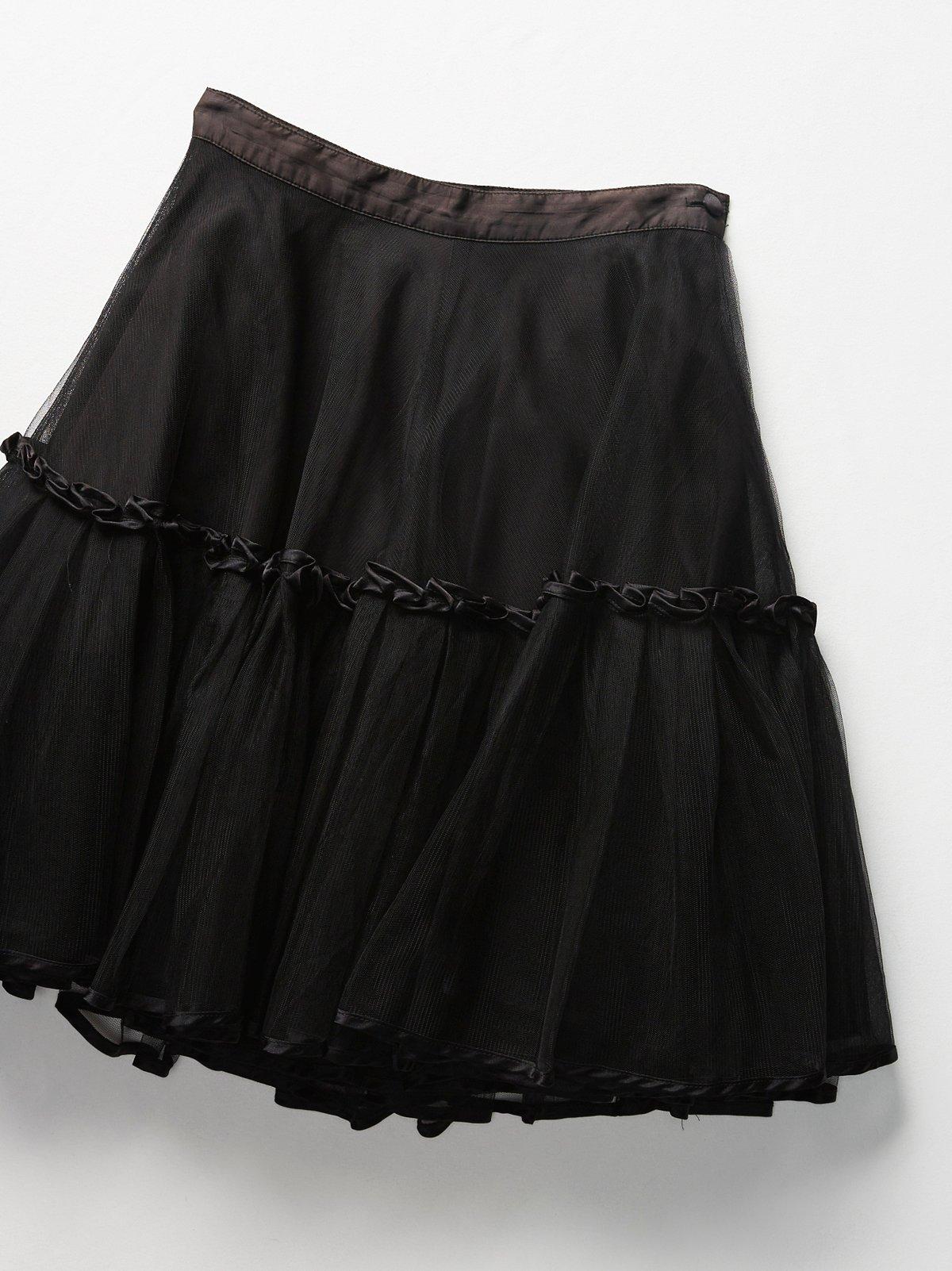 Vintage 1960s Crinoline Skirt